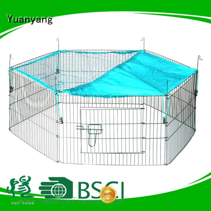 Yuanyang Custom metal dog pen supplier for dog outdoor activities
