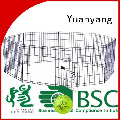 Yuanyang Durable metal puppy playpen company for puppy exercise area