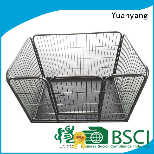 Custom heavy duty dog pen company for dog indoor activities