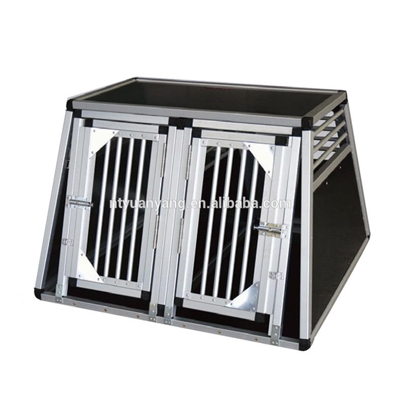 Heavy Duty Dog Carrier Aluminum Dog Kennel Pet Transport Box YD024F