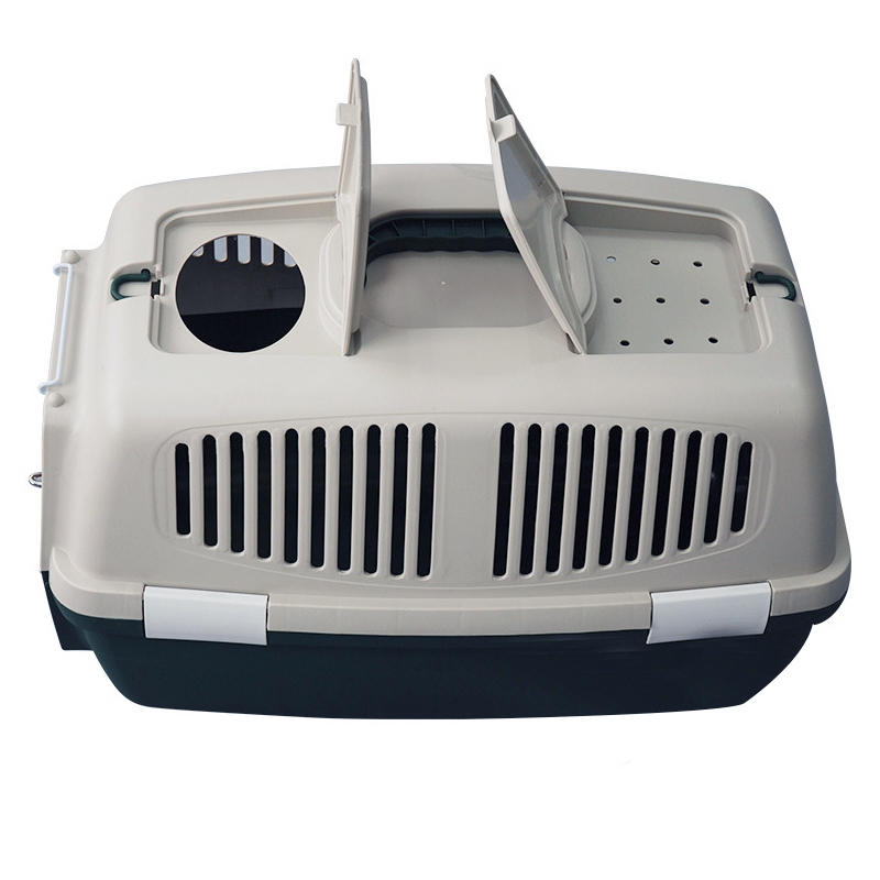 product-Yuanyang-Petmate Two Door Top Load Dog Kennel Plastic Pet Kennel YD025-img