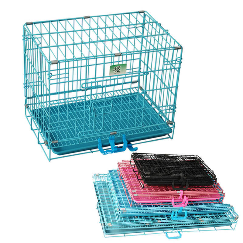 product-Yuanyang-Portable Travel Folding Metal Dog Crates for Sale YD100-img