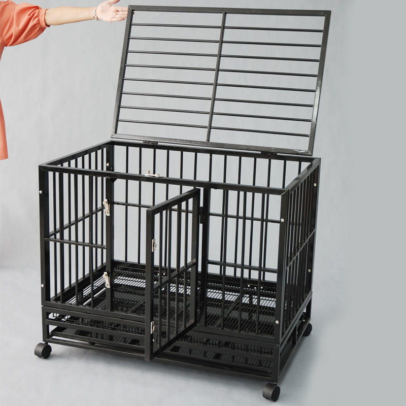 product-High Quality Assembled Easy Collapsible Steel Dog Crate YD057B-Yuanyang-img-1