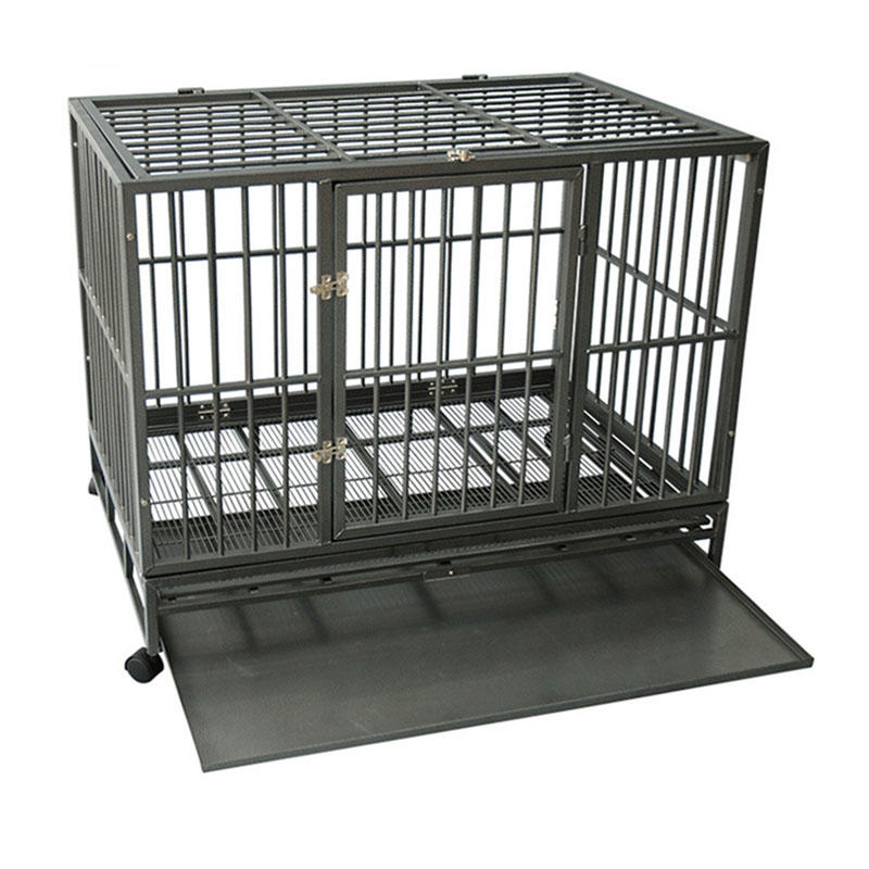 product-Yuanyang-Assembled And Easy Collapsible Metal Dog Kennel YD058A-img