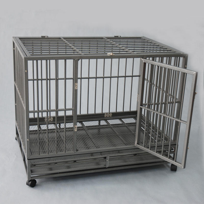 product-Assembled And Easy Collapsible Metal Dog Kennel YD058A-Yuanyang-img-1