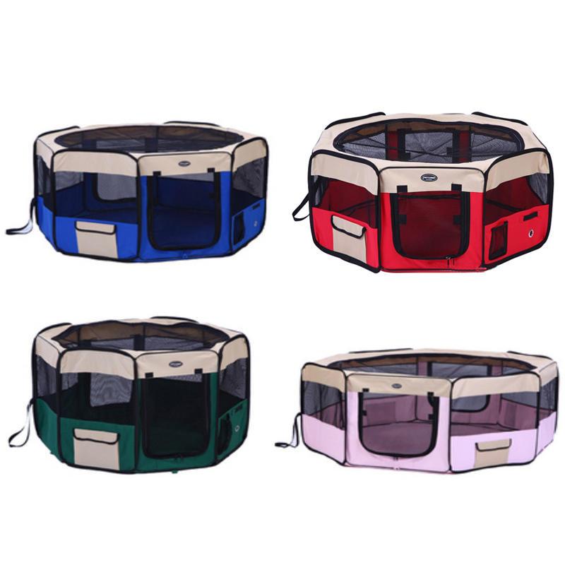 product-Foldable Fabric Pet Playpen Dog Cat Pen Premium 600D Oxford Cloth YD0335-Yuanyang-img-1