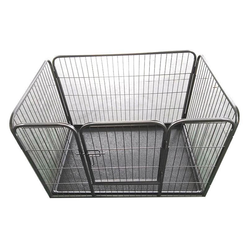 Heavy Duty Square Tube Metal Puppy Dog Play Pen  Strong Dog Cage YD068