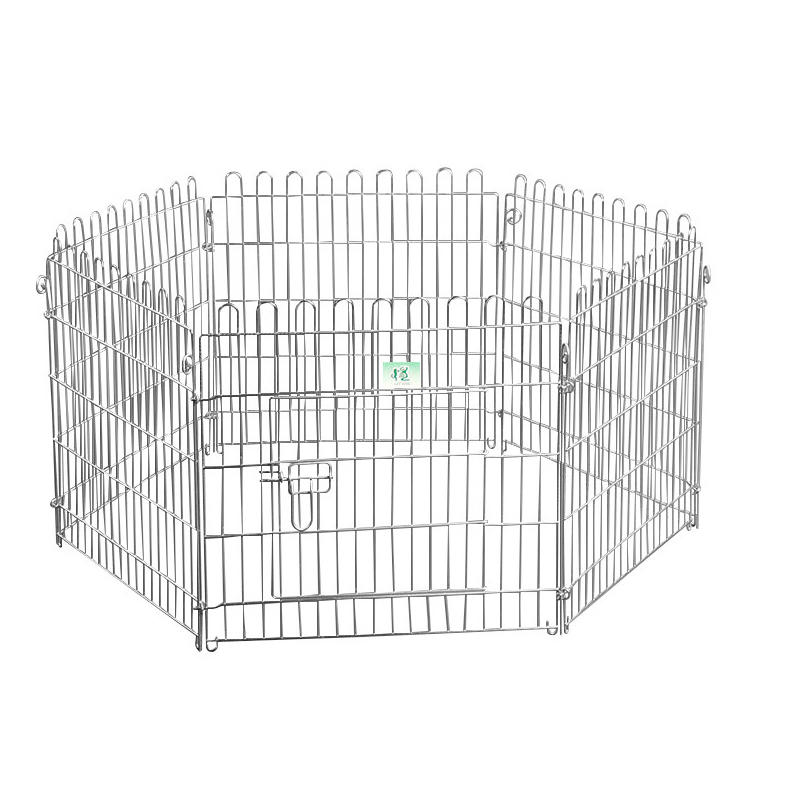 High Quality Galvanized Outdoor Mesh Wire Pet Pen with Door YD009