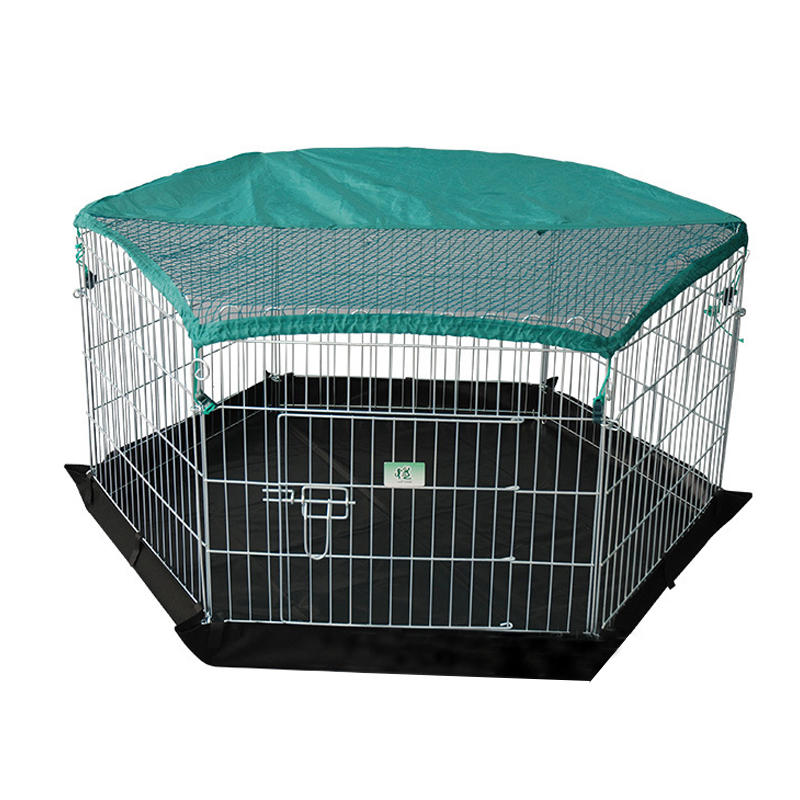 product-High Quality Galvanized Outdoor Mesh Wire Pet Pen with Door YD009-Yuanyang-img-1