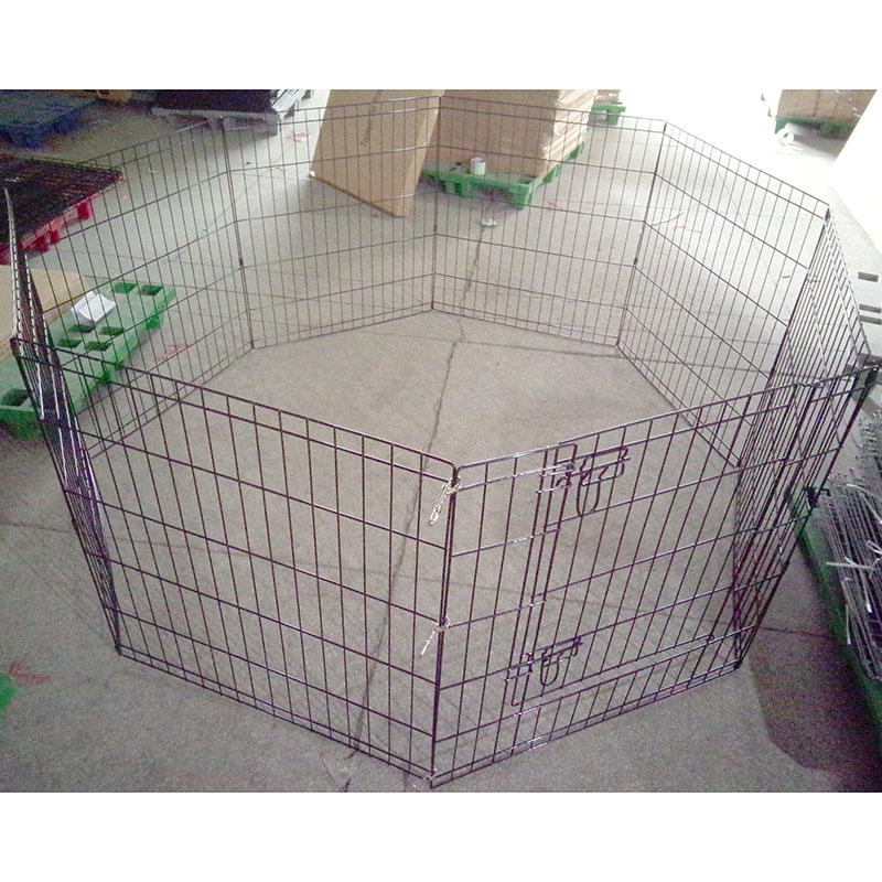 product-Yuanyang-Pet Playpen IndoorOutdoor Puppy Pen Cat Rabbit Foldable Run Cage YD120-img
