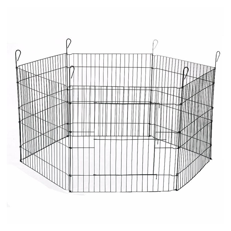 Suitcase Wire Metal Folding Outdoor Dog Fence YD123