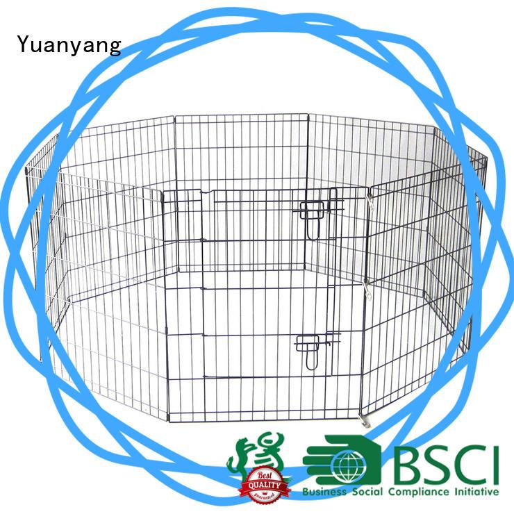 Yuanyang Custom metal playpen supplier for dog exercise area
