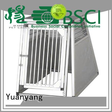 Top aluminum dog kennel supplier for transporting dog
