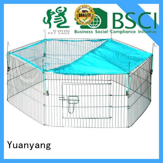 Yuanyang Top wire playpen supplier for dog indoor activities