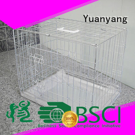 Yuanyang Durable metal dog crate company for training pet