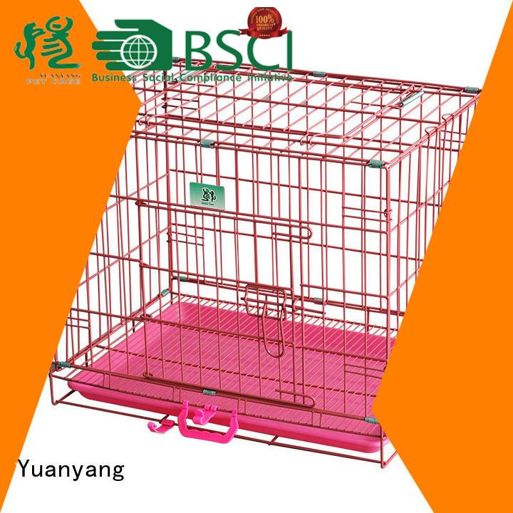 Yuanyang Custom metal dog crate company for transporting dog