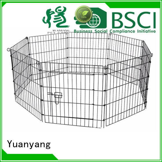 Yuanyang metal puppy playpen company