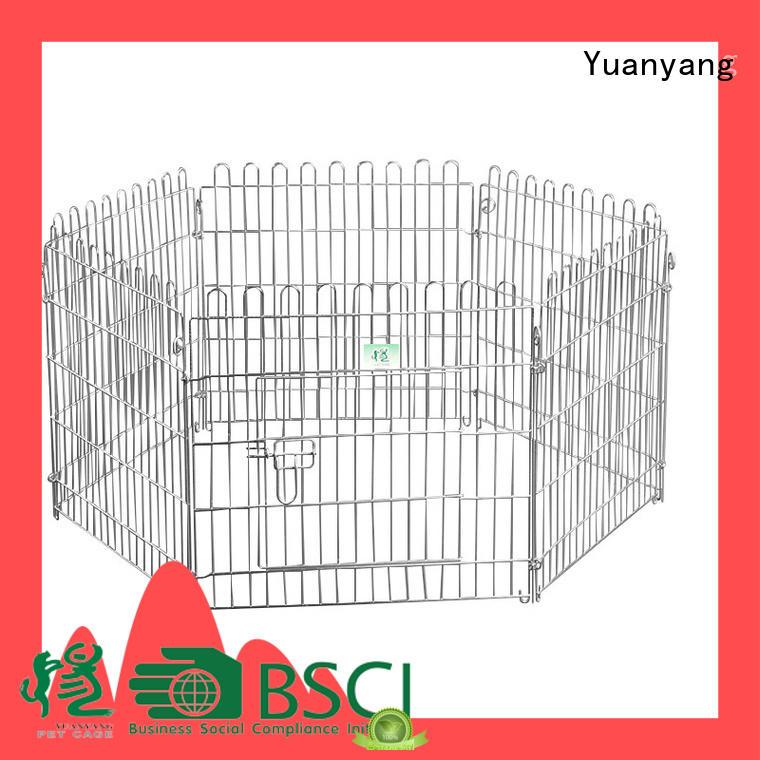Yuanyang Professional pet playpen supplier for puppy exercise area