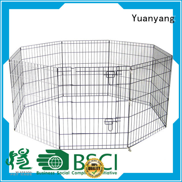 Yuanyang Durable metal dog pen supplier for dog outdoor activities