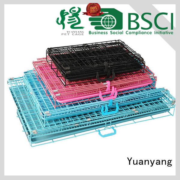 Yuanyang heavy duty dog crate manufacturer for transporting dog