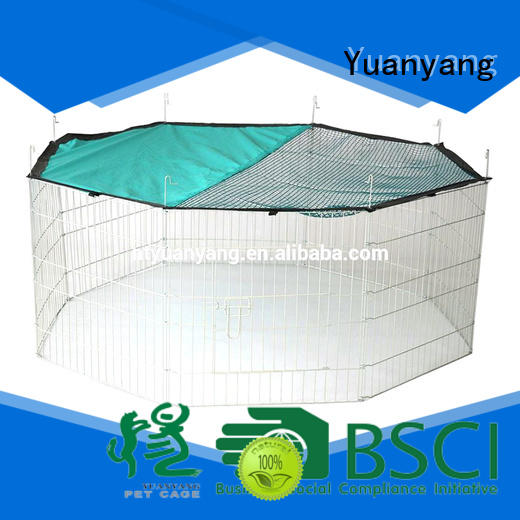 Yuanyang pet playpen supplier for puppy exercise area