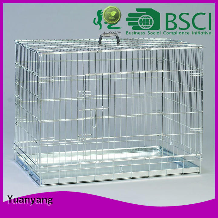 Excellent quality wire dog cage supplier for training pet