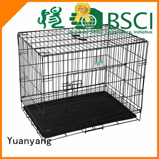 white dog pen