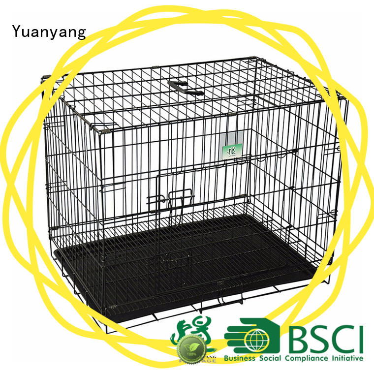 Top metal dog crate manufacturer for transporting puppy