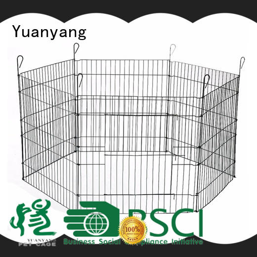 Yuanyang Custom best puppy playpen supply for puppy exercise area