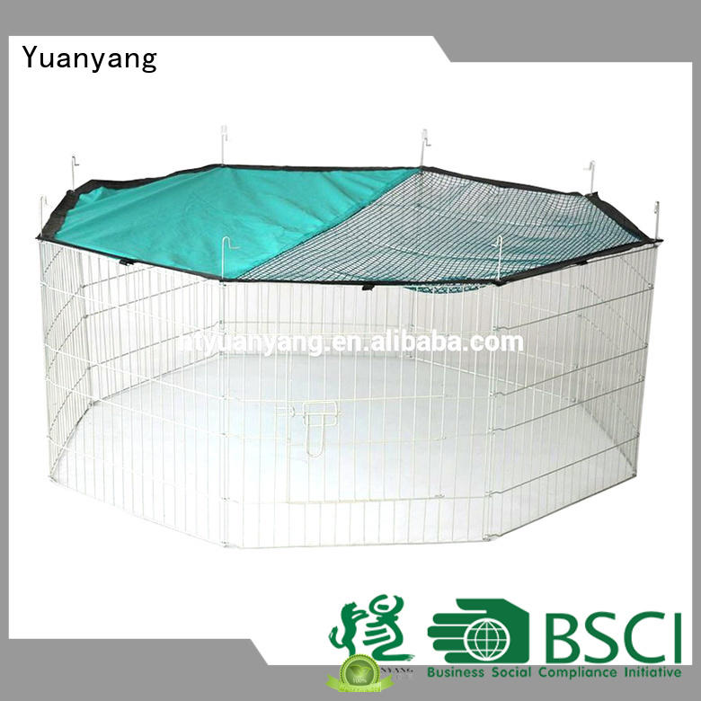 Yuanyang Professional wire playpen supply for dog exercise area