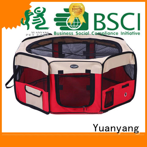 Top fabric dog pen manufacturer for carrying dog