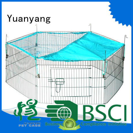 Yuanyang wire playpen company for dog indoor activities