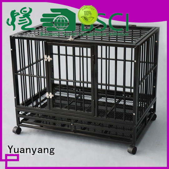 Top metal dog cage supply for transporting dog