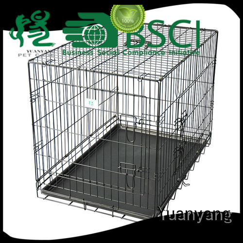 Yuanyang heavy duty dog cage manufacturer for training pet