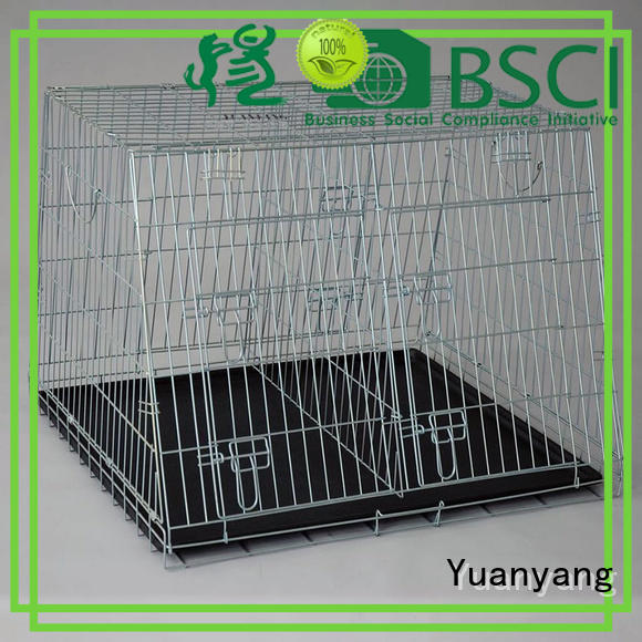 Top steel dog cage manufacturer for training pet