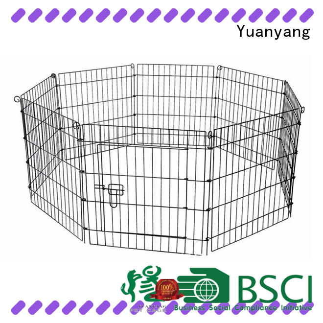 Yuanyang large dog cages factory for dog indoor activities