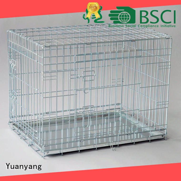 Excellent quality metal dog kennel supply for training pet