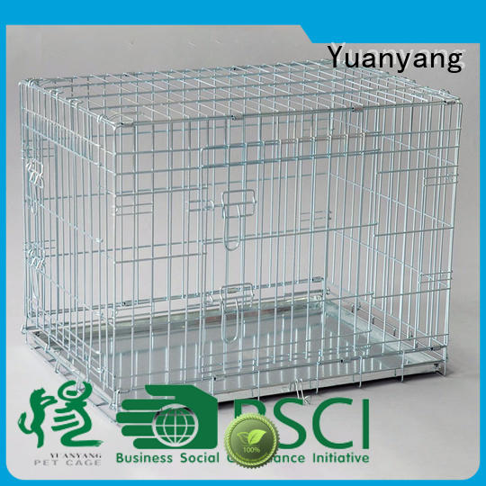 stainless steel heavy duty dog crate