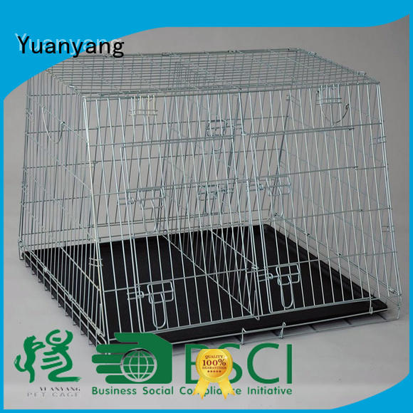 Yuanyang Best wire pet cage supplier for training pet