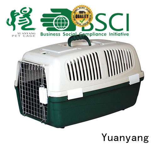 Yuanyang Best best plastic dog crate supplier for puppy carrying