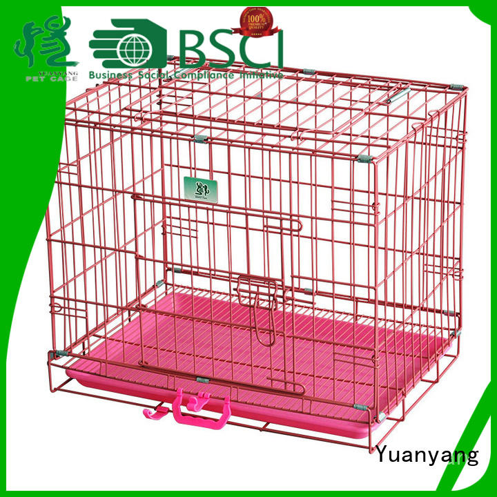Yuanyang wire dog crates company for training pet
