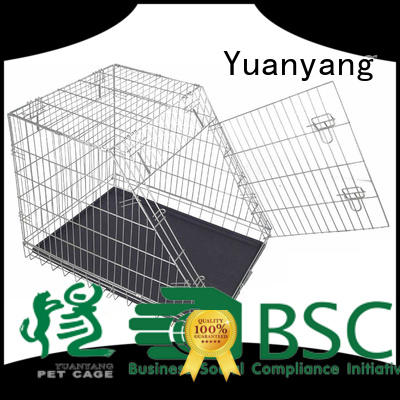 Yuanyang heavy duty dog kennel factory for training pet