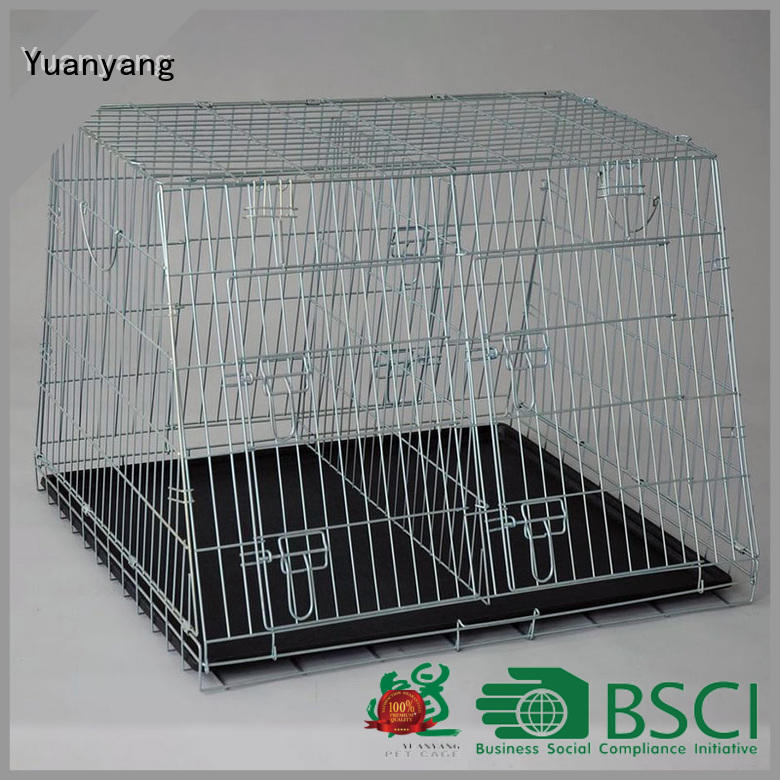 Yuanyang heavy duty dog crate supplier for training pet