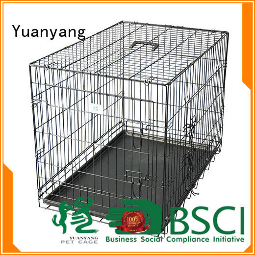 Professional wire dog cage company for transporting dog