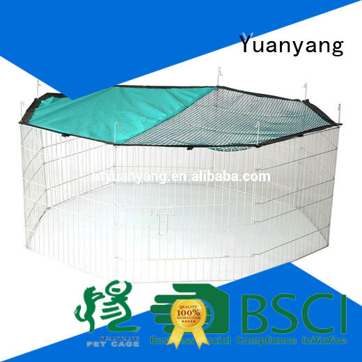 Yuanyang wire playpen supplier for dog exercise area