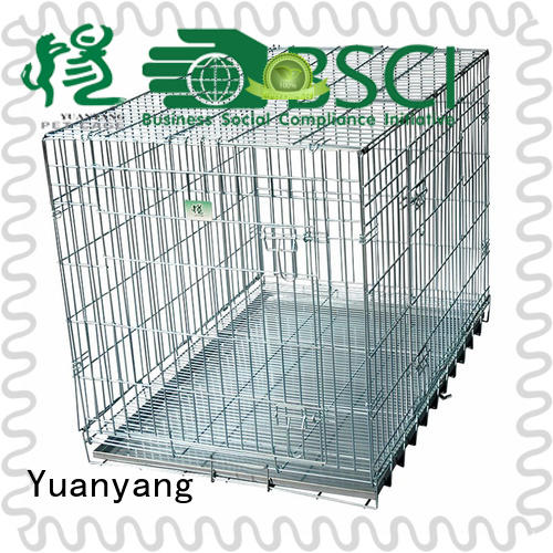 Excellent quality metal dog kennel supply for transporting dog