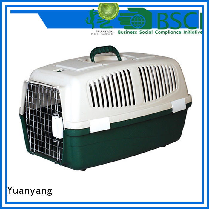 Yuanyang Excellent quality plastic pet kennel factory for carrying dog