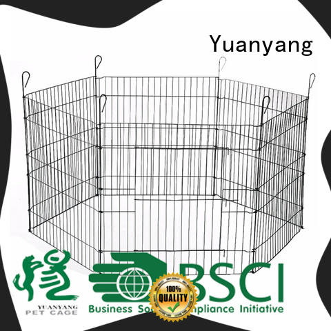 Durable wire playpen manufacturer for puppy exercise area