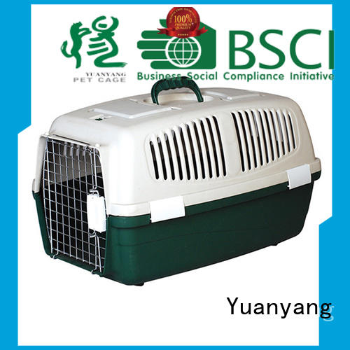 Yuanyang Durable plastic dog kennels supplier for carrying dog