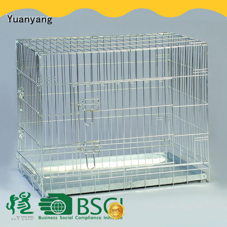 Durable metal wire dog cage factory for training pet